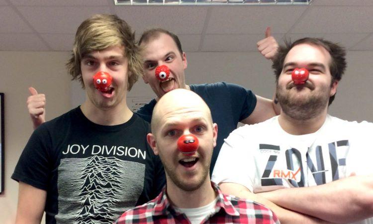 Red Nose Day | Laser Red | Digital Agency