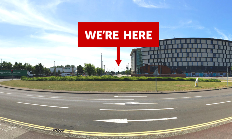 roundabout-expo| Laser Red | Digital Agency | Lincoln