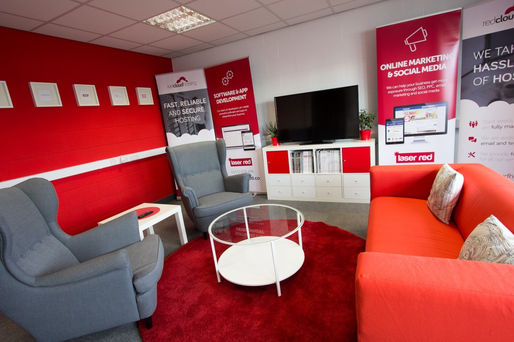 New office in Grimsby - Casual meeting room