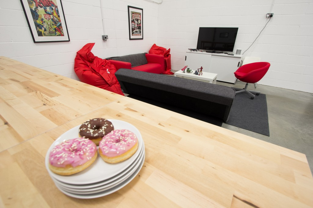 New office in Grimsby - Doughnuts and chill