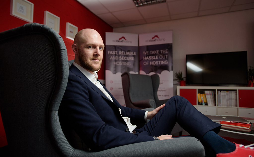 Liam Oleary Managing Director of Laser Red