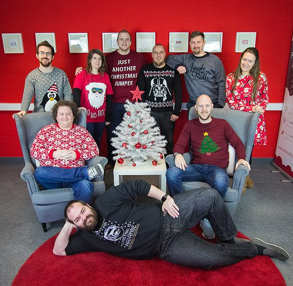 Christmas Jumper Day 2016 | Laser Red, Lincolnshire