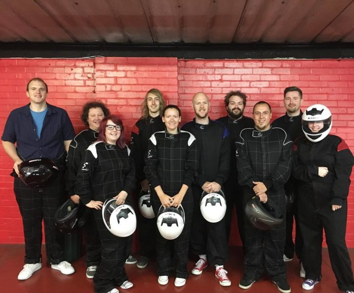 Office Culture - Go Karting | Laser Red, Lincolnshire