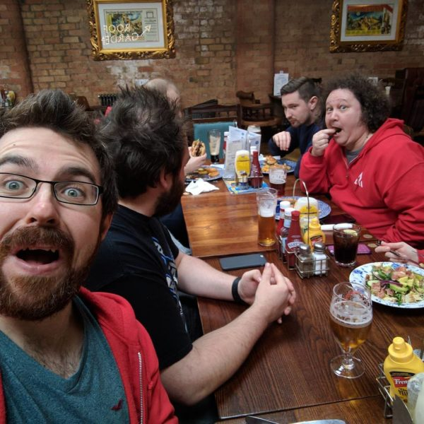 Office Culture - Team Lunches at Laser Red, Lincolnshire