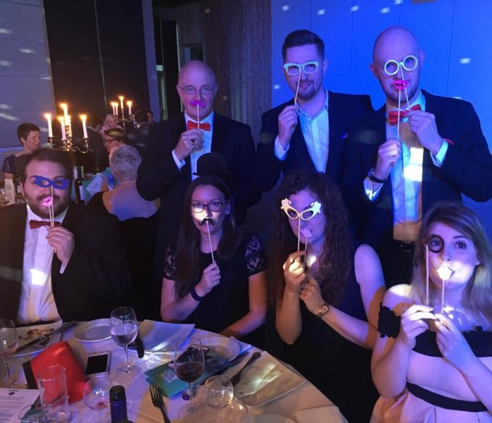The Laser Red Team at the Lincolnshire Digital Tech Awards 2017