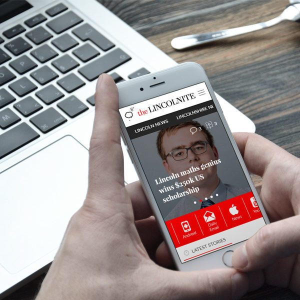 Mobile Friendly Website Development | Laser Red. Lincolnshire