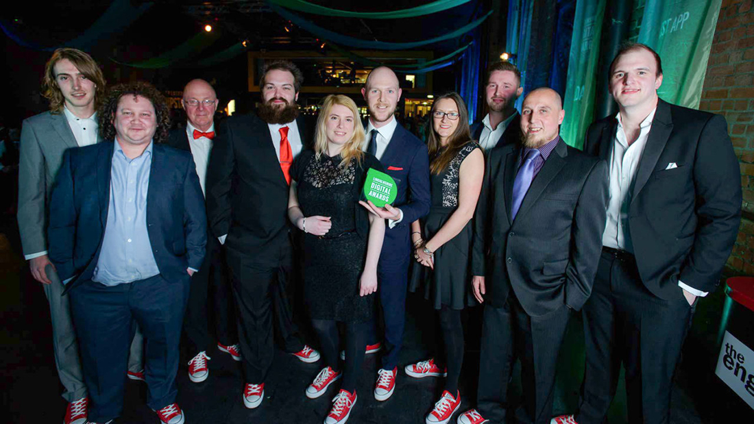 Laser Red Digital Agency win Lincolnshire Digital Award for Tong Engineering