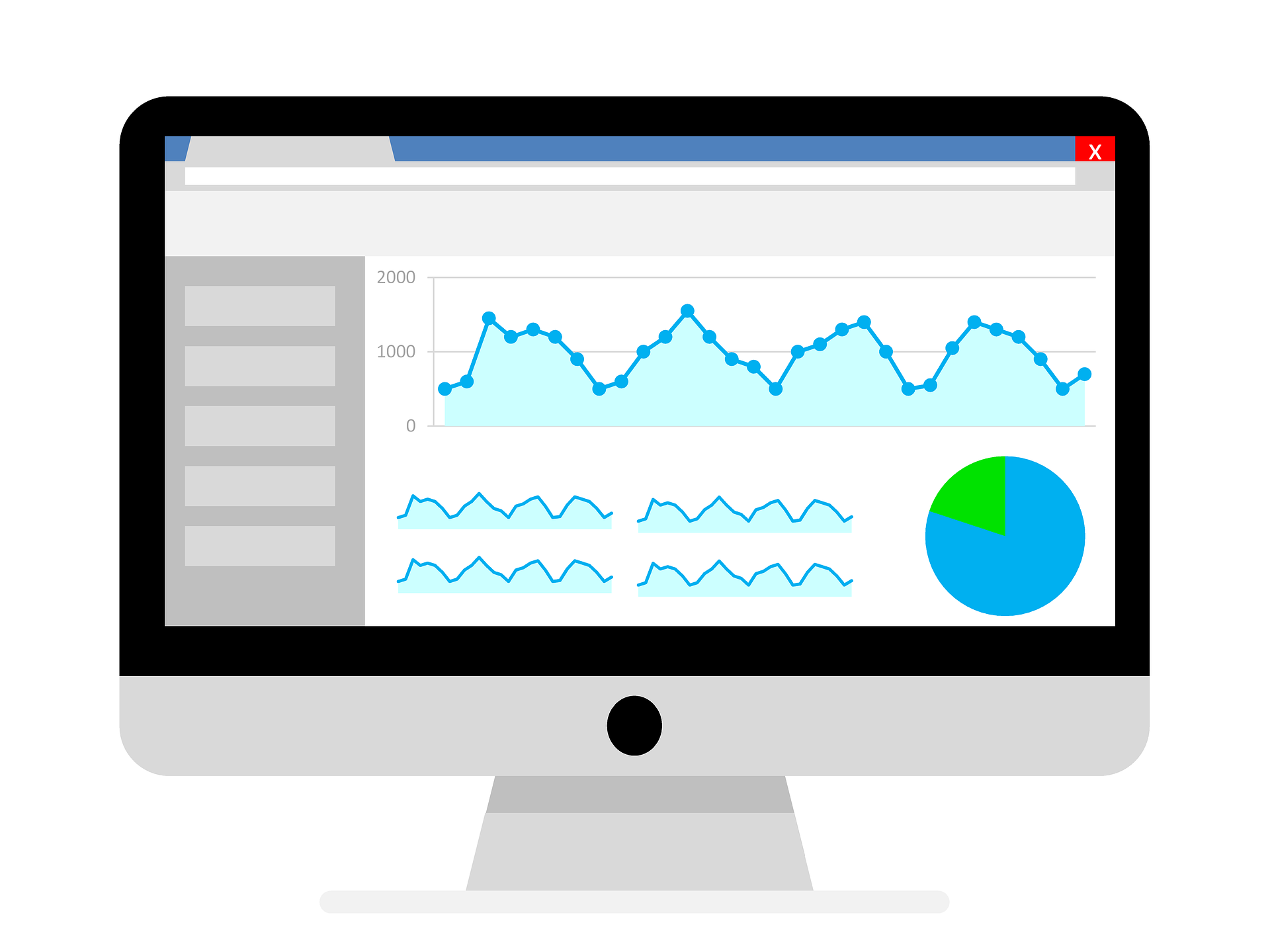 Laser Red Google Analytics Conversion Creation