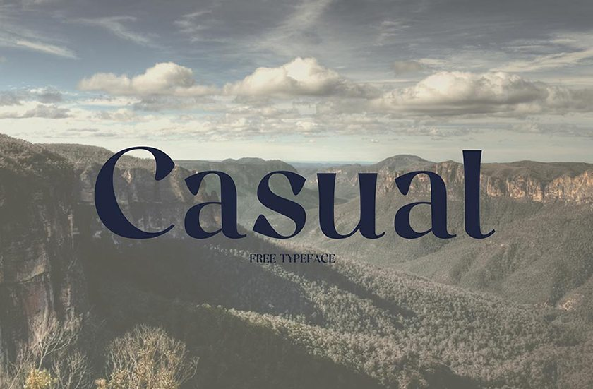 Free Fonts for Designers - Casual