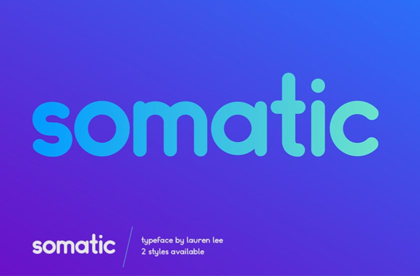 Top Designer Font - Somatic